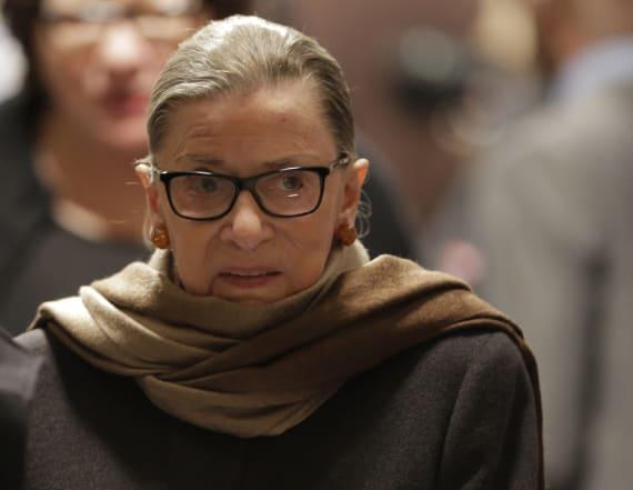 Justice Ruth Bader Ginsburg likes 'BIG' reference
