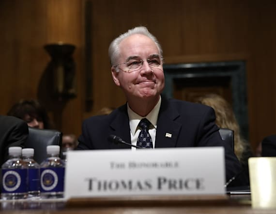 Senator grills Tom Price about ACA replacement