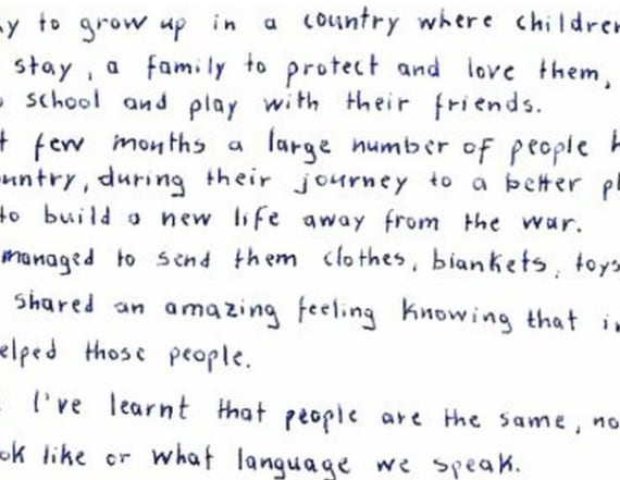 Girl Scouts around the world pen powerful letters