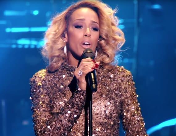 Singer sounds identical to Whitney Houston