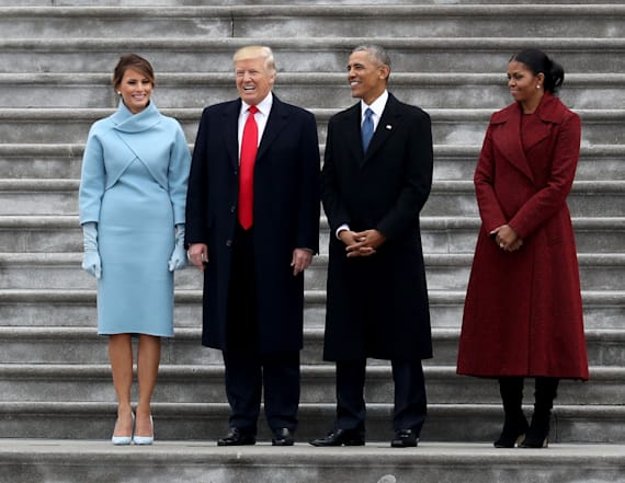 Inauguration photo has people concerned for Melania