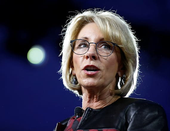 DeVos pressed on Office for Civil Rights pick