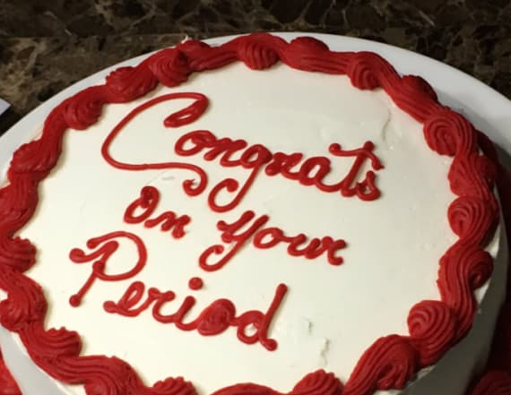 """Mother of the Year"" throws daughter a period party"