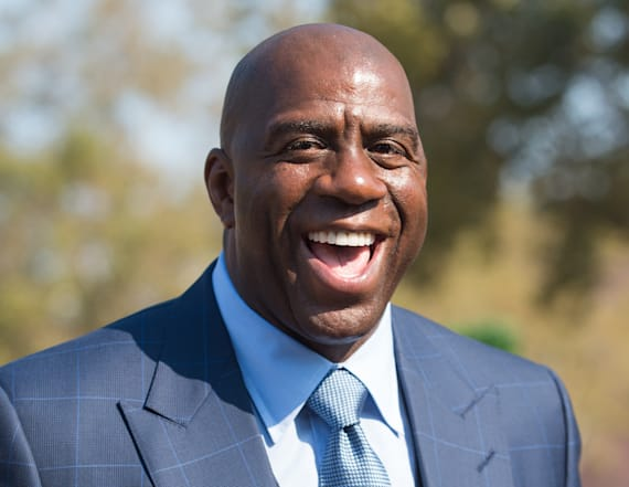 Lakers hire Magic Johnson as president of operations