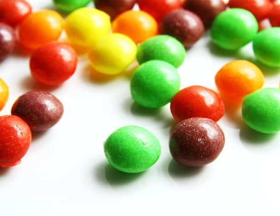 You have to see this Skittles color sorting machine