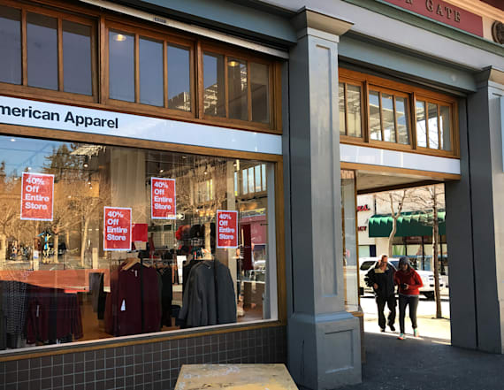 American Apparel starts layoffs, employees say