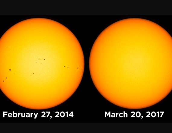 NASA observatory captures a rare stretch of sun