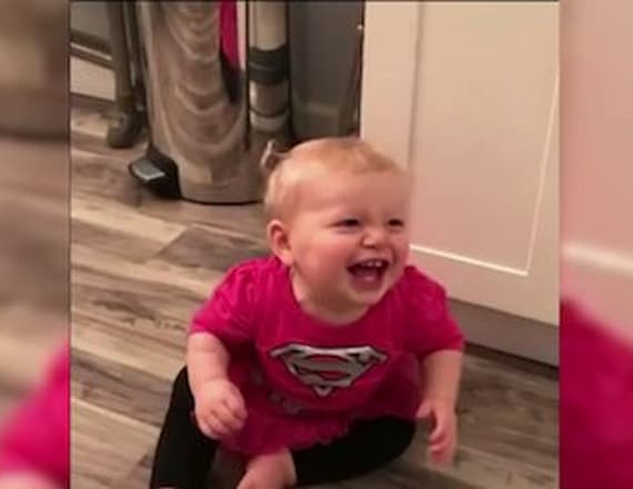 One-year-old's infectious giggle will make you laugh