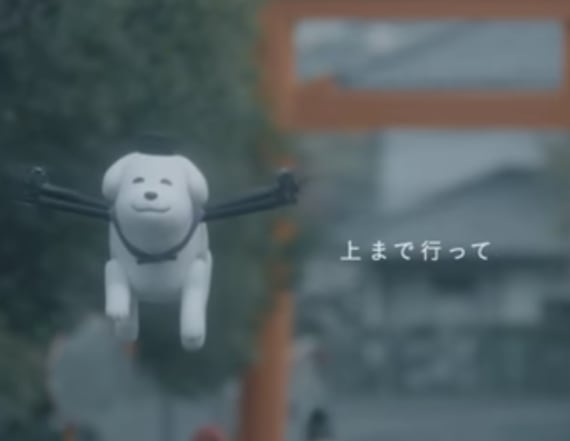 Japanese town has puppy drone as their mascot