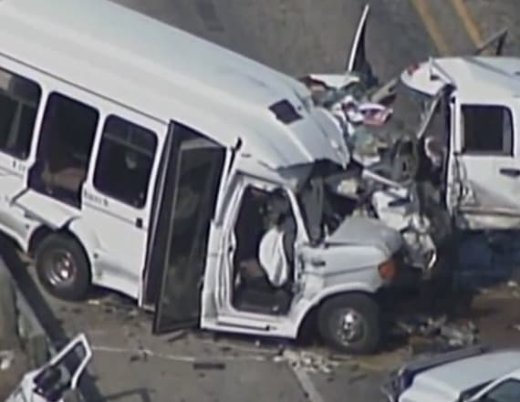 Church bus involved in deadly crash