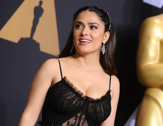 Salma Hayek calls this her secret to avoiding botox