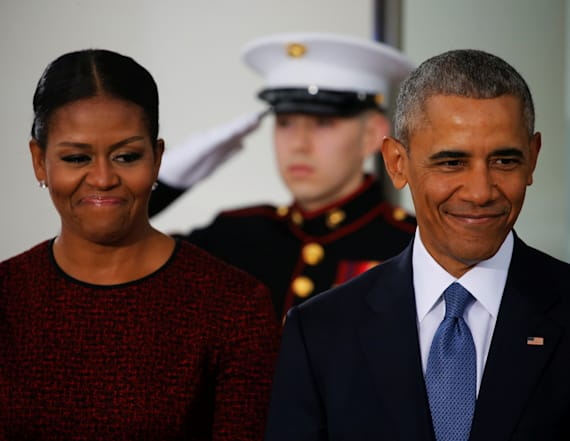 Michelle Obama's Inauguration Day outfit stuns