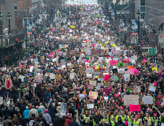 Women's March draw massive crowds worldwide