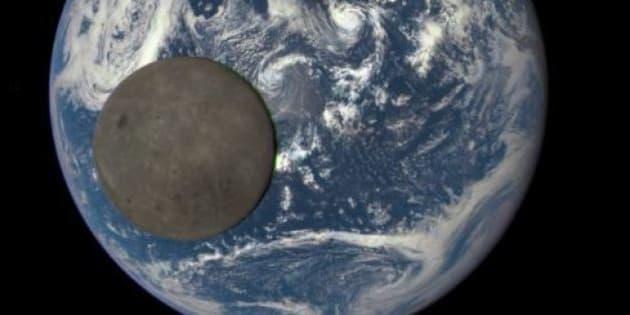 cette belle photo de la terre vue de l 39 espace vaut le d tour nement. Black Bedroom Furniture Sets. Home Design Ideas