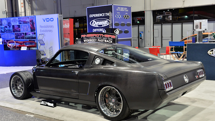 ring brothers 1965 mustang carbon fiber body sema 2013 photo gallery autoblog. Black Bedroom Furniture Sets. Home Design Ideas