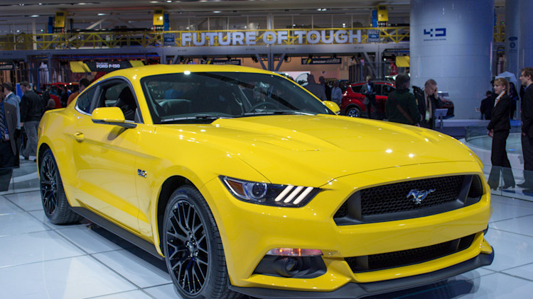 2015 Ford Mustang GT: Detroit 2014 Photo Gallery - Autoblog