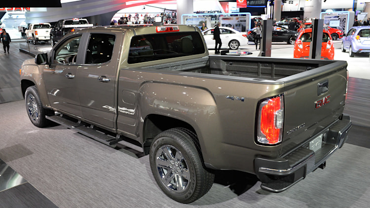 2015 gmc canyon gets the party started w video. Black Bedroom Furniture Sets. Home Design Ideas