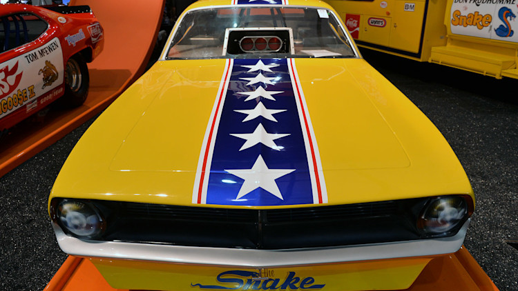 Pre Owned Trucks >> Snake and Mongoose Funny Cars and Trucks: Barrett-Jackson ...