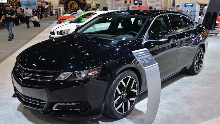 2015 Chevrolet Impala Blackout Concept: SEMA 2014 Photo ...