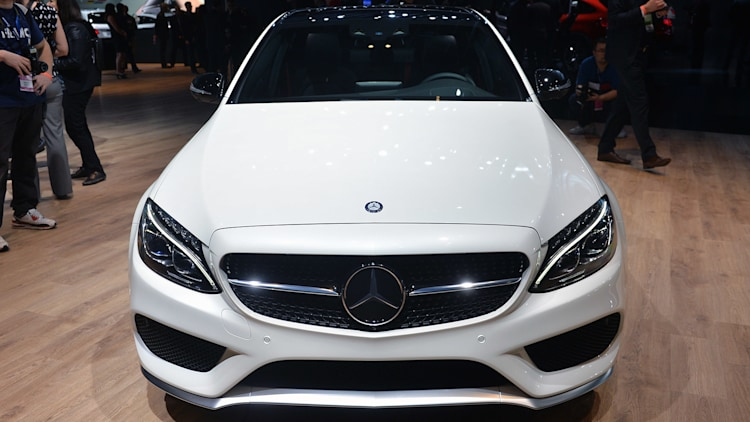 2016 mercedes benz c450 amg sport is not too hot not too cold. Black Bedroom Furniture Sets. Home Design Ideas