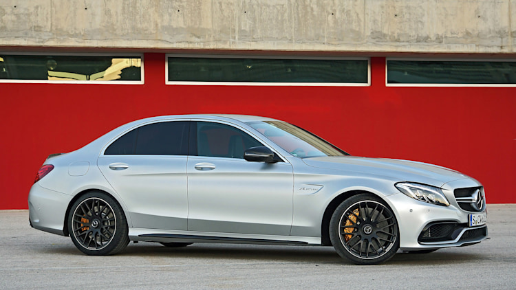 2015 mercedes amg c63 s first drive w video. Black Bedroom Furniture Sets. Home Design Ideas