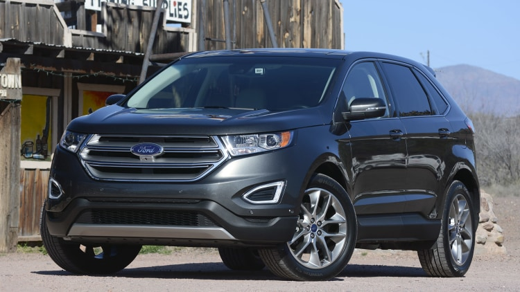 2015 ford edge first drive w videos. Black Bedroom Furniture Sets. Home Design Ideas