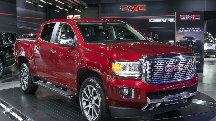 2017 GMC Canyon Denali: LA 2015 Photo Gallery - Autoblog