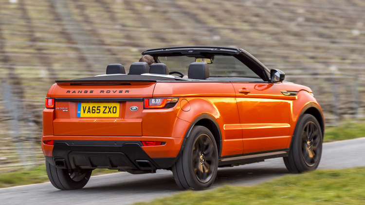 2017 land rover range rover evoque convertible first drive photo gallery autoblog. Black Bedroom Furniture Sets. Home Design Ideas
