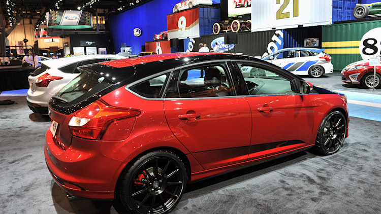 ford focus hatches wicked tuner concepts. Black Bedroom Furniture Sets. Home Design Ideas