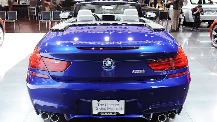 2012 bmw m6 convertible makes its world debut. Black Bedroom Furniture Sets. Home Design Ideas