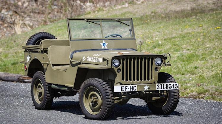 wwii jeep 39 found in crate 39 set to cross greenwich auction block. Black Bedroom Furniture Sets. Home Design Ideas