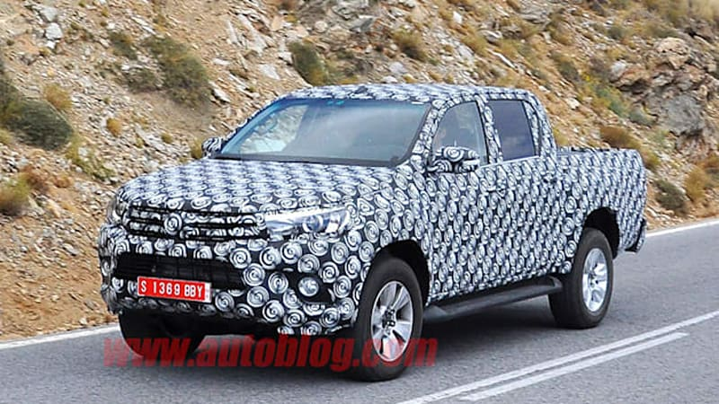 Toyota Hilux successor spotted
