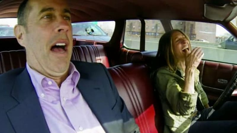 jerry seinfeld doesn 39 t love sarah jessica parker 39 s new country squire in latest cicgc autoblog. Black Bedroom Furniture Sets. Home Design Ideas