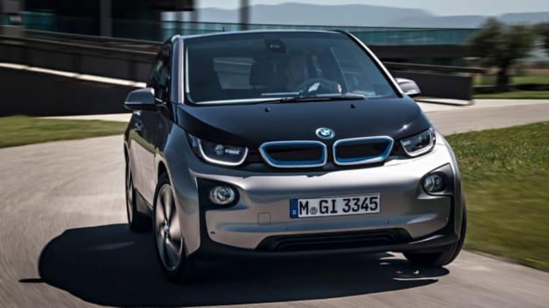 DC fast charging standard on 2015 BMW i3 EV