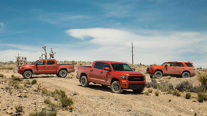 Toyota prices TRD Pro Tacoma, 4Runner