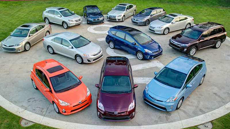 Toyota sold a million hybrids in last nine months, 6M since 1997