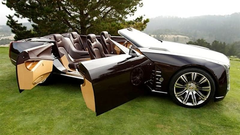 No, Eminem is not giving away the Cadillac Ciel concept ...