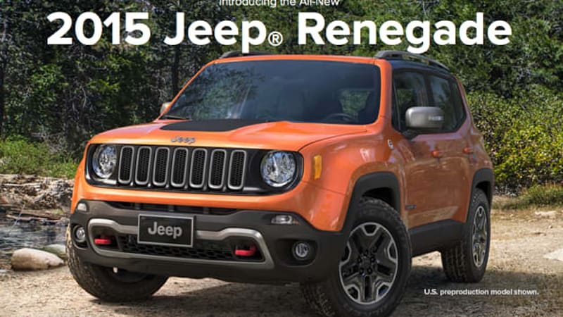 jeep renegade pricing to start at 18 595 update autoblog. Black Bedroom Furniture Sets. Home Design Ideas