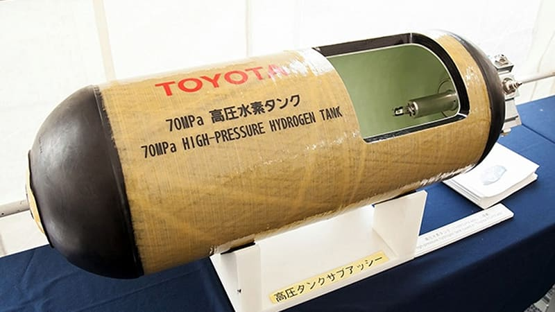 Toyota fires bullets into hydrogen fuel tanks, shoots down EV supporters