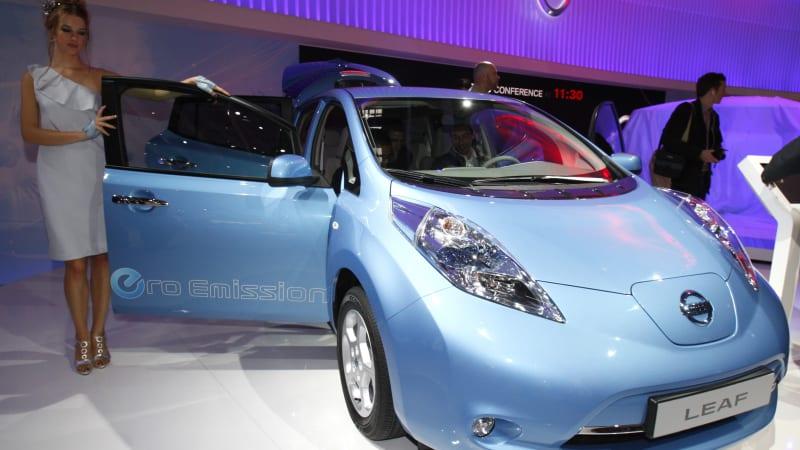 Nissan Leaf's lead over Renault Zoe narrows in Europe