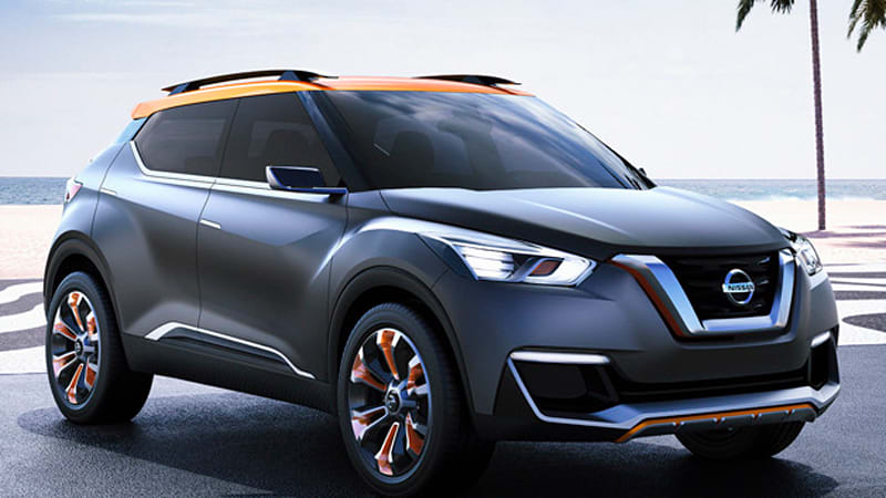 Nissan Kicks concept debuts in Sao Paulo [w/videos]