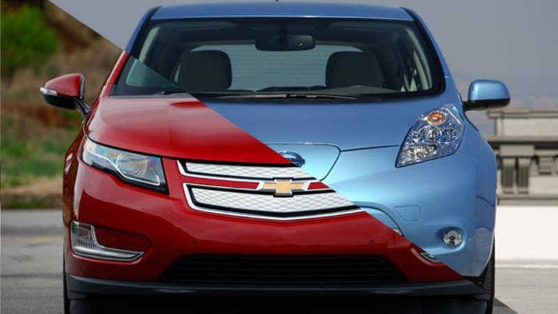 Nissan Leaf sets new November sales record, Chevy Volt drops again