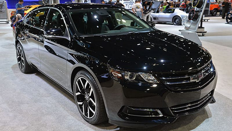 Chevy working on production Impala Midnight Edition - Autoblog