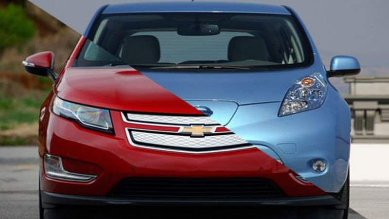 Nissan Leaf sells 3,186 in best month ever as Chevy moves 2,511 Volts