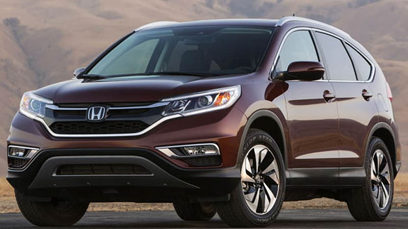 Honda CR-V updated for 2015