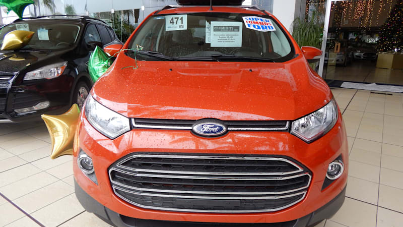 Is the Ford EcoSport coming to the USA?