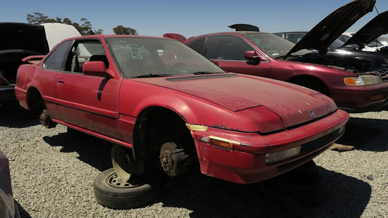 junkyard gem 1991 honda prelude si 4ws autoblog. Black Bedroom Furniture Sets. Home Design Ideas