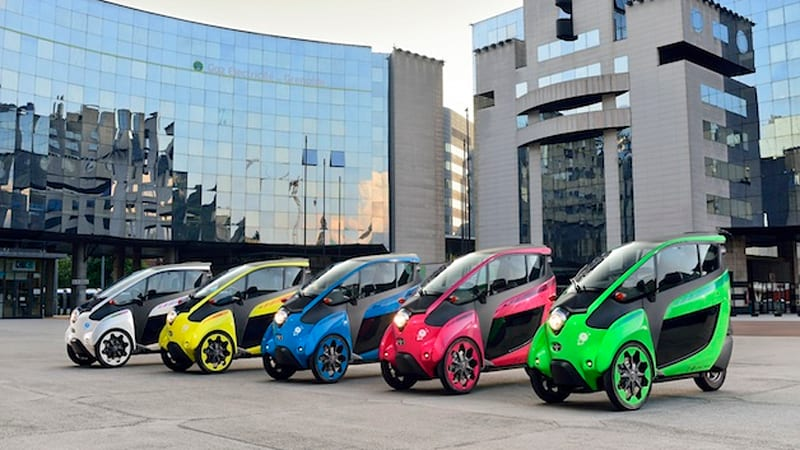 Toyota's HaMo urban mobility carsharing program comes to France