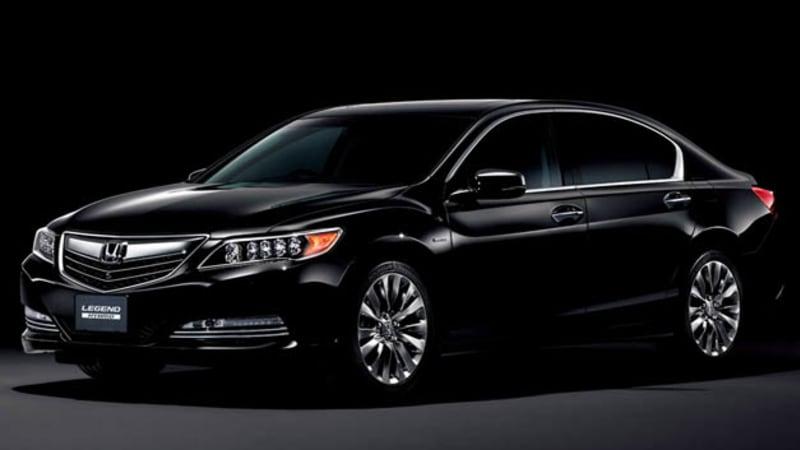Honda slaps Legend name on JDM Acura RLX