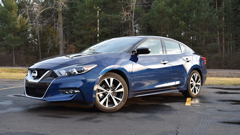 A week in a rented 2016 Nissan Maxima